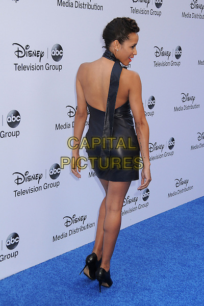 Dania Ramirez.Disney Media Networks International Upfronts 2013 held at Walt Disney Studios, Burbank, California, USA..May 19th, 2013.full length dress back behind rear black leather halterneck .CAP/ADM/BP.©Byron Purvis/AdMedia/Capital Pictures