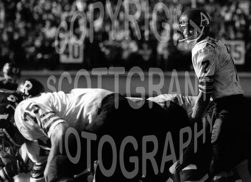 Joe Theismann Toronto Argonauts 1971. Photo Ted Grant