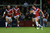 7th September 2017, Beaumont Legal Stadium, Wakefield, England; Betfred Super League, Super 8s; Wakefield Trinity versus St Helens; Scott Grix of Wakefield Trinity runs with the ball
