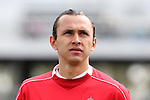 26 March 2016: Toluca's Omar Arellano (MEX). The Carolina RailHawks of the North American Soccer League hosted Deportivo Toluca Futbol Club of LigaMX at WakeMed Stadium in Cary, North Carolina in an international friendly club soccer match. Toluca won the game 3-0.