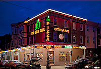 Pizza & Steaks, South Philly, Philadelphia, PA, USA