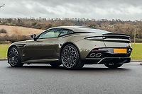 BNPS.co.uk (01202 558833)<br /> Pic: SilverstoneAuctions/BNPS.<br /> <br /> Stunning Aston Martin 'James Bond' supercar with only 45 miles on the clock - yours for £300,000.<br /> <br /> A limited edition Aston Martin that was built to mark the 50th anniversary of one of the most popular James Bond movies has emerged for sale for around £300,000.<br /> <br /> The DBS Superleggera was one of just 50 created last year to commemorate five decades since the release of On Her Majesty's Secret Service.<br /> <br /> The movie, which came out in 1969, was the first in the franchise not to feature Sean Connery and instead starred George Lazenby as 007.