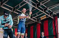 "Guillaume Van Keirsbulck (BEL/Wanty-Groupe Gobert) wins the Antwerp Port Epic 2018 (formerly ""Schaal Sels"").<br /> Aksel Nõmmela (EST/BEAT Cycling Club) is 2nd and last years winner Taco van der Hoorn (NED/Roompot-Nederlandse Loterij) finishes 3rd.<br /> <br /> One Day Race:  Antwerp > Antwerp (207 km; of which 32km are cobbles & 30km is gravel/off-road!)"