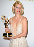 Claire Danes attends 65th Annual Primetime Emmy Awards - Arrivals held at The Nokia Theatre L.A. Live in Los Angeles, California on September 22,2012                                                                               © 2013 DVS / Hollywood Press Agency