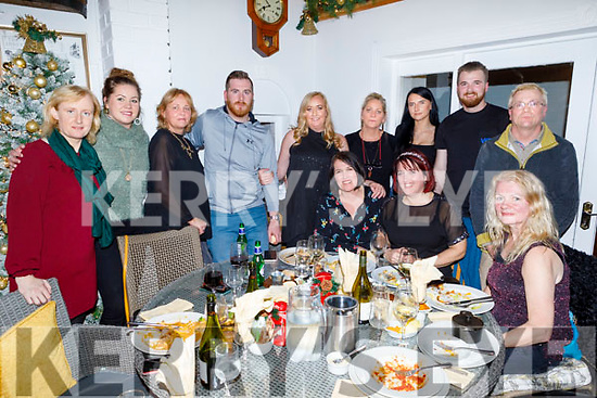 Gathering in Bella Bia celebrating their good friend Mairead Williams who passed away last month.<br /> Seated l to r: Monique and Lucy Fitzell and Deirdre McDonnagh.<br /> Back l to r: Veronica White,  Chloe Murphy, Patricia McCarthy, Sean Williams, Catherine White, Natalia Szczygielek, Theresa Murphy, Ryan and John Williams.