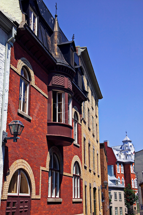 Buildings in Old Quebec city, Canada
