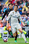 Cristiano Ronaldo of Real Madrid in action during their La Liga match between Real Madrid and Valencia CF at the Santiago Bernabeu Stadium on 29 April 2017 in Madrid, Spain. Photo by Diego Gonzalez Souto / Power Sport Images
