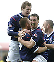 20/10/2007       Copyright Pic: James Stewart.File Name : sct_jspa05_falkirk_v_kilmarnock.CARL FINNIGAN CELEBRATES AFTER HE SCORES FALKIRK'S FIRST.James Stewart Photo Agency 19 Carronlea Drive, Falkirk. FK2 8DN      Vat Reg No. 607 6932 25.Office     : +44 (0)1324 570906     .Mobile   : +44 (0)7721 416997.Fax         : +44 (0)1324 570906.E-mail  :  jim@jspa.co.uk.If you require further information then contact Jim Stewart on any of the numbers above........