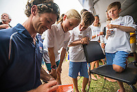 AR_07272016_RIO_HOUSTON_00027.ARW  © Amory Ross / US Sailing Team.  HOUSTON - TEXAS- USA. July 27, 2016. The Houston Yacht Club hosts a send-off party for the US Sailing Team during the Optimist Nationals regatta, a day before the sailors fly to Rio for the Summer Olympics.
