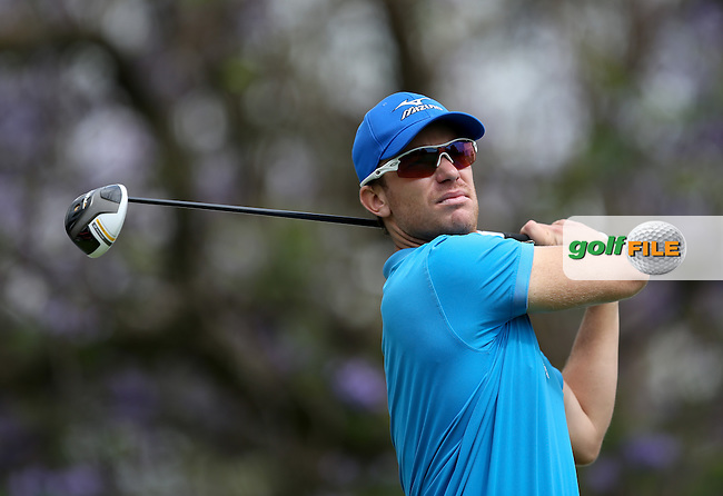 Magnus A Carlsson (SWE) during the practice day at the SA Open Championship 2013 at the Glendower Golf Club, Johannesburg, South Africa. Picture:  David Lloyd / www.golffile.ie