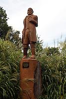 Statue of Major Louis Lorimer at Cape Rock Park in Cape Girardeau, Missouri on Thursday, September 2, 2010.
