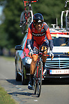 SITTARD, NETHERLANDS - AUGUST 16: Manuel Quinziato of Italy riding for BMC Racing team competes during stage 5 of the Eneco Tour 2013, a 13km individual time trial from Sittard to Geleen, on August 16, 2013 in Sittard, Netherlands. (Photo by Dirk Markgraf/www.265-images.com)