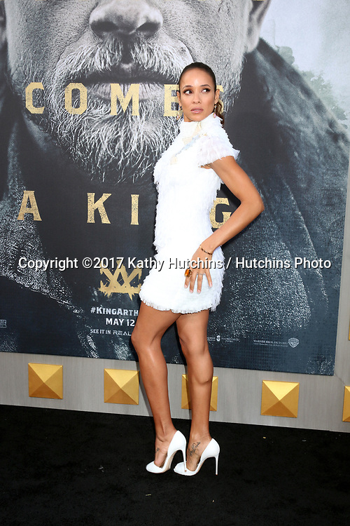 """LOS ANGELES - MAY 8:  Dania Ramirez at the """"King Arthur Legend of the Sword"""" World Premiere on the TCL Chinese Theater IMAX on May 8, 2017 in Los Angeles, CA"""