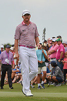 Jimmy Walker (USA) heads down 1 during round 4 of The Players Championship, TPC Sawgrass, at Ponte Vedra, Florida, USA. 5/13/2018.<br /> Picture: Golffile | Ken Murray<br /> <br /> <br /> All photo usage must carry mandatory copyright credit (&copy; Golffile | Ken Murray)