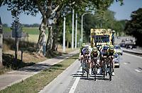 TTT training for Team Mitchelton-Scott preparing for the 2019 Tour de France 'Grand Départ'  in Brussels<br /> <br /> ©kramon