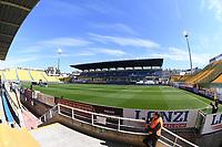 The emty stadium. No spectators allowed to attend the match due health measures for Coronavirus Covid19 emergency <br /> Parma 08/03/2020 Stadio Ennio Tardini <br /> Football Serie A 2019/2020 <br /> Parma Calcio Vs Spal <br /> Photo Matteo Gribaudi / Insidefoto
