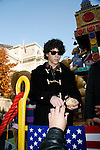 Jonas Brothers: Nick Jonas<br /> appearing in the 2007 Macy's Thanksgiving Day Parade, New York City.<br /> November 22, 2007