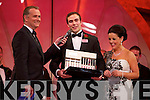 Winner of 'Escort of the Year' Ian Cullinane during the Monday night Selection at the Dome.