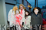Pictured at the Halloween Festival in Knocknagoshel on Sunday night were Ann Keane, Niamh Tugwell, Susan Tugwell, Kelly Ann Nix's and Sam Keane.