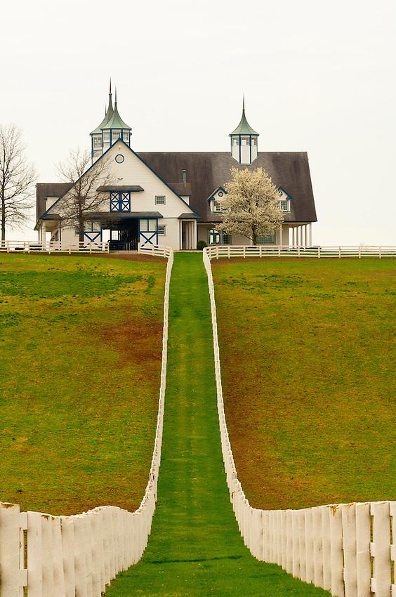 Manchester horse farm, Lexington, Kentucky USA