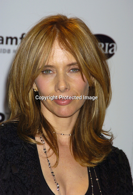 Rosanna Arquette..a benefit for amFAR and ACRIA  honoring Herb Ritts on ..February 2, 2005 at Sotheby's. Noted Contemporary artists..donated major works that were sold to benefit amFAR and ..Aids Community Research Initiative of America. ..Photo by Robin Platzer, Twin Images