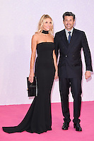"Patrick Dempsey, wife Jillian <br /> at the ""Bridget Jones's Baby"" World premiere, Odeon Leicester Square , London.<br /> <br /> <br /> ©Ash Knotek  D3149  05/09/2016"