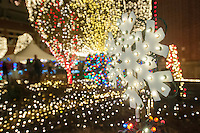 NWA Democrat-Gazette/ANTHONY REYES • @NWATONYR<br /> The Lights of the Ozarks Wednesday, Dec. 9, 2015 on the Fayetteville square.