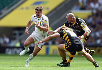 Ollie Devoto of Exeter Chiefs in possession. Aviva Premiership Final, between Wasps and Exeter Chiefs on May 27, 2017 at Twickenham Stadium in London, England. Photo by: Patrick Khachfe / JMP