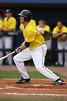 March 21, 2010:  Garrett Stephens of the Michigan Wolverines at bat during a game at Tradition Field in St. Lucie, FL.  Photo By Mike Janes/Four Seam Images
