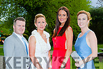 Joe Burkett Myra Fitzgerald, Mags Kelleher  and Linda Gordon at the Mayors Ball in the Malton Hotel Sunday night