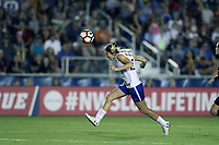 Cary, North Carolina  - Saturday June 17, 2017: Christen Westphal during a regular season National Women's Soccer League (NWSL) match between the North Carolina Courage and the Boston Breakers at Sahlen's Stadium at WakeMed Soccer Park. The Courage won the game 3-1.