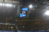 Michail Antonio goal is ruled out by VAR during Chelsea vs West Ham United, Premier League Football at Stamford Bridge on 30th November 2019