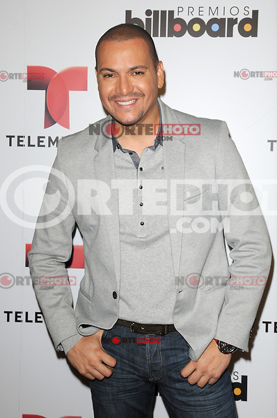 MIAMI, FL - FEBRUARY 05: Victor Manuelle at the Telemundo and Premios Billboard 2013 Press Conference at Gibson Miami Showroom on February 5, 2013 in Miami, Florida. © MPI10/MediaPunch Inc /NortePhoto