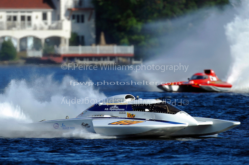 "Tom Pakradooni, GP-88, ""Rolling Thunder"" and Burt Henderson, GP-777 ""The Crush"" (Grand Prix Hydroplane(s)"