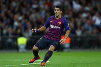 Luis Suarez of FC Barcelona during Tottenham Hotspur vs FC Barcelona, UEFA Champions League Football at Wembley Stadium on 3rd October 2018