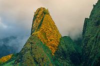 Iao Needle<br /> Iao Valley State Park<br /> Island of Maui,  Hawaii