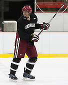 Kevin Guiltinan (Harvard - 6) - The Harvard University Crimson practiced on Friday, October 22, 2013, at Bright-Landry Hockey Center in Cambridge, Massachusetts.