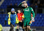 St Johnstone v Kilmarnock....09.01.16  Scottish Cup  McDiarmid Park, Perth<br /> A dejected Alan Mannus st full time<br /> Picture by Graeme Hart.<br /> Copyright Perthshire Picture Agency<br /> Tel: 01738 623350  Mobile: 07990 594431