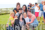 TUG -A-WAR: The Kirby's Bar Lady's tug a war team in prepartion for the Ladies Tug of War final in conjuction with the Ballyheigue Summer Festival on Sunday, Catherine Daly, Laura Dineen, Louise Daley-Harrington, Nicole O'Sullivan, Clarisa Garcia and Teresa Daughton.