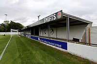 General view of the ground during Heybridge Swifts vs Carshalton Athletic, FA Trophy Football at The Aspen Waite Arena, Scraley Road on 7th October 2017