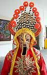 Folkloric costume in Quito, Ecuador
