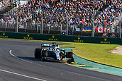 17th March 2019, Melbourne Grand Prix Circuit, Melbourne, Australia; Melbourne Formula One Grand Prix, race day; The number 44 Mercedes AMG Petronas driver Lewis Hamilton during the race