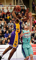 Patrick Ewing Jr. during Blancos de Rueda Valladolid V Barcelona ACB match. January 20, 2013..(ALTERPHOTOS/Victor Blanco) /NortePhoto