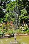 Springbrunnen, Wasser, Haus Stein Egerta, Schaan, Liechtenstein
