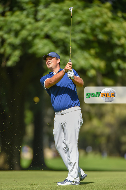 Patrick Reed (USA) watches his approach shot on 6 during round 1 of the World Golf Championships, Mexico, Club De Golf Chapultepec, Mexico City, Mexico. 2/21/2019.<br /> Picture: Golffile | Ken Murray<br /> <br /> <br /> All photo usage must carry mandatory copyright credit (© Golffile | Ken Murray)