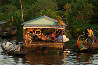 Tonle Sap Lake Province of Siem Reap Cambodia
