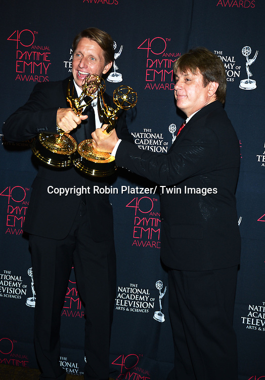 Bradley Bell and  Jack Alocca for Song attends the 40th Annual Daytime Creative Arts Emmy Awards on June 14, 2013 at the Westin Bonaventure Hotel in Los Angeles, California.