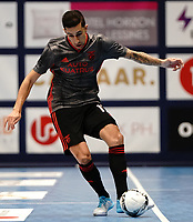 20191010 - HALLE: Benfica's Fernando is pictured during the UEFA Futsal Champions League Main Round match between Araz Naxcivan and SL Benfica on 10th October 2019 at De Bres Sportcomplex, Halle, Belgium. PHOTO SPORTPIX | SEVIL OKTEM
