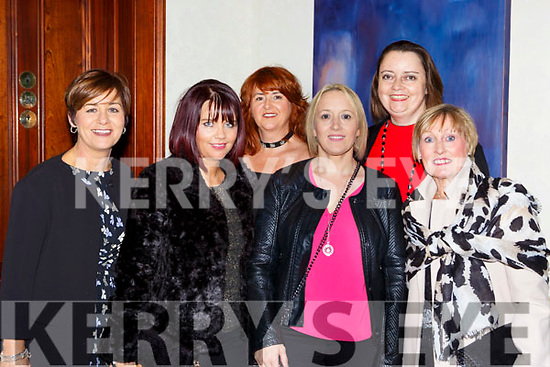 Carline O'Leary, Roisin Moriarty, Helena Long, Mandy Toomey, Theresa O'Shaugnessy and Marilyn Field at Chef Kevin Dundon Christmas Cooking event in the Muckross Park Hotel on Friday night