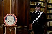 Roma, 6 Marzo 2019<br /> Carabinieri, tutela patrimoni culturale. durante la Cerimonia di restituzione di 594 dipinti ex voto, illecitamente sottratti al patrimonio culturale messicano.